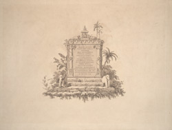 Title-page to Thomas and William Daniell, 'Oriental scenery. Twenty-four views in Hindoostan'